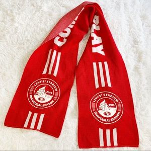 Levi's stadium San Francisco 49ers red knit scarf